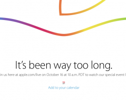 October 16 Apple Event Live Stream