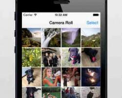 My Camera Roll iOS app