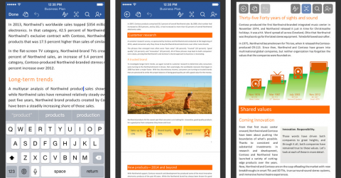 how to download microsoft word for ipad mini