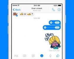 Facebook Messaging iOS App