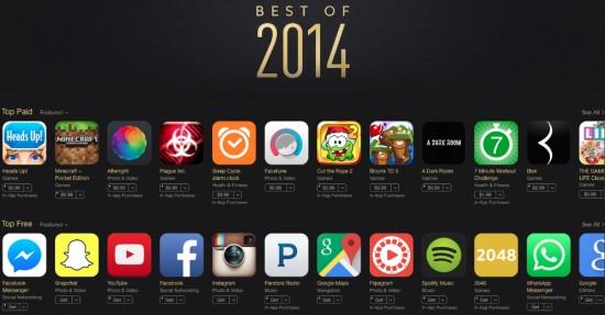 Best of 2014 apps