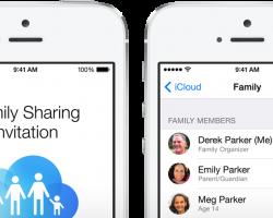 Family Sharing Invitation