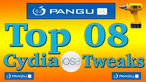 Best 8 Cydia Tweaks iOS 8