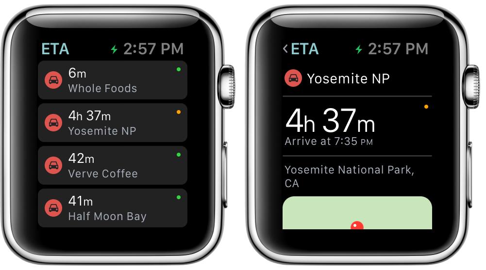 ETA iOS App