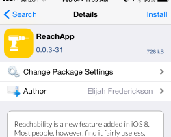 ReachApp Tweak