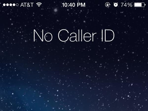 No Caller ID Blocker