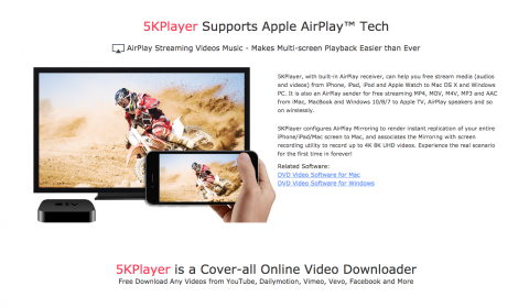 5KPlayer: The Answer to All Your Media Files | iPhonecaptain | iOS