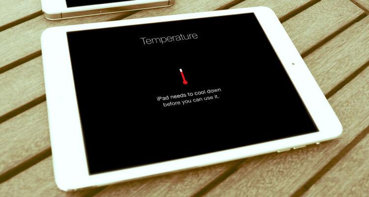 Overheating iPad