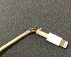 apple charger breaks
