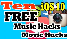 Top Ten FREE iOS 10 Hacks December 2016 No Jailbreak Needed