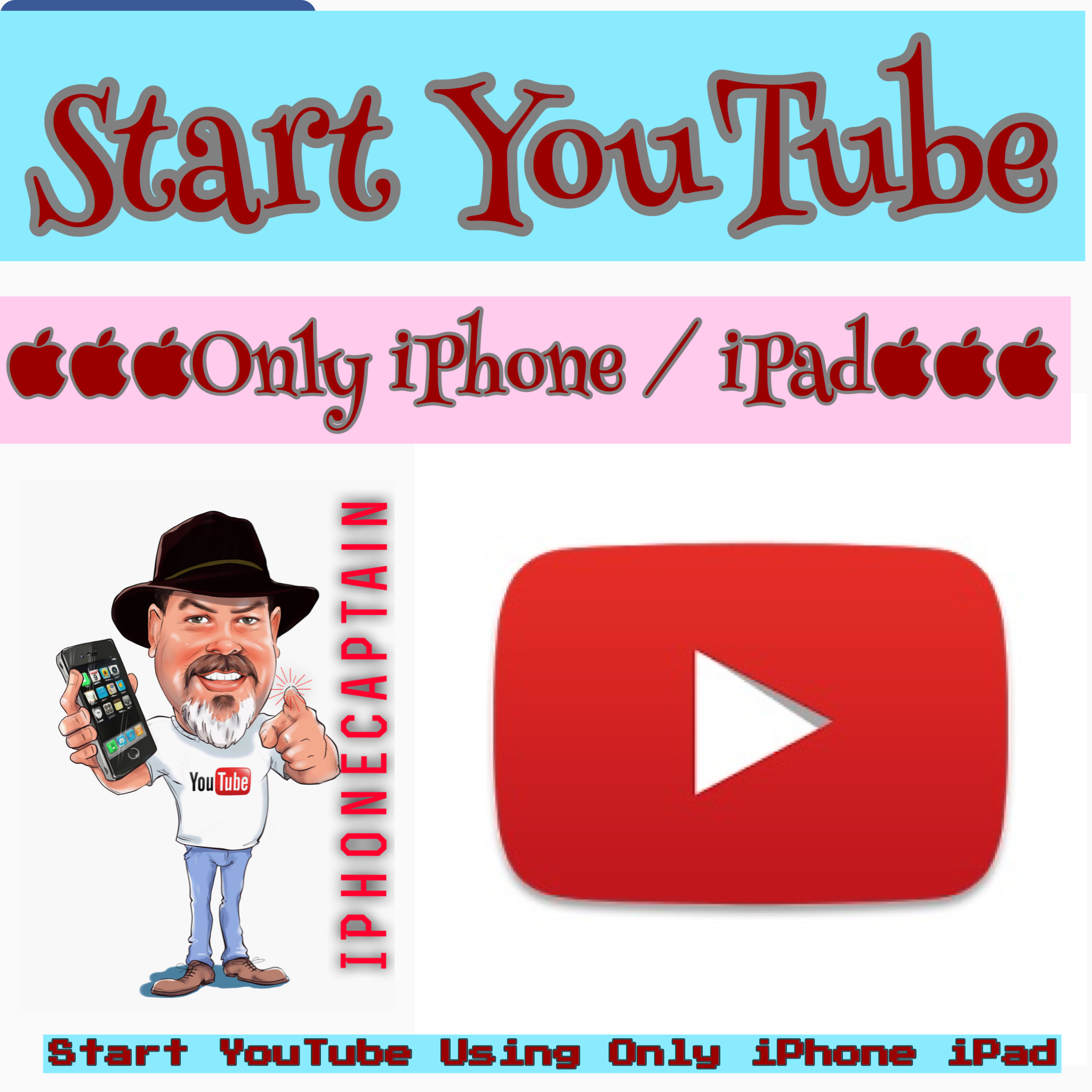 start youtube iphone
