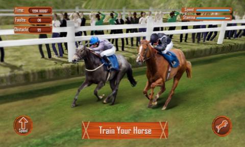 speeding horses mobile phone
