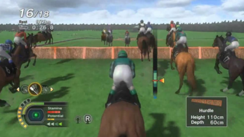 horse jumping mobile phone