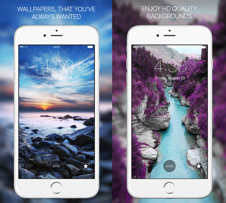 best five free wallpaper ios ios 10 apps iphone ipad