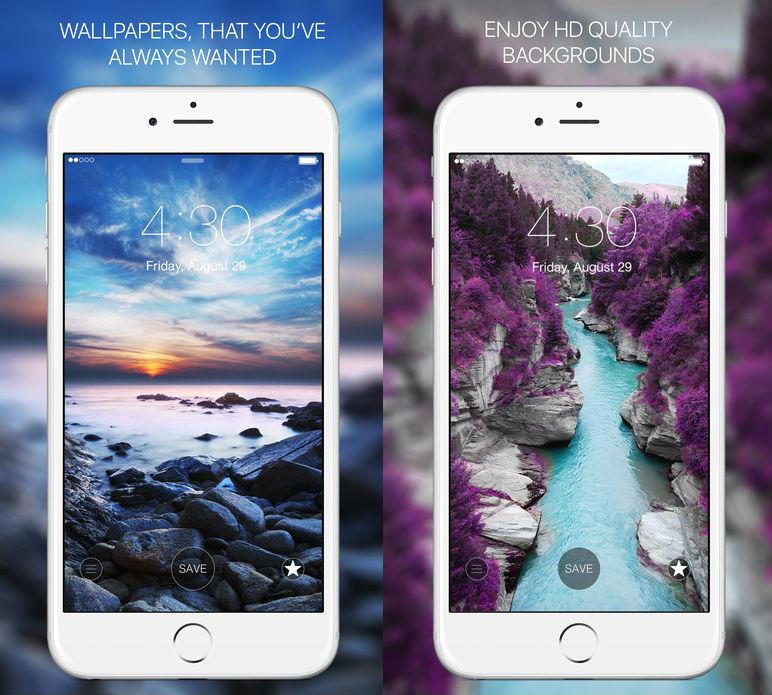 Everpic iOS App wallpaper iOS apps
