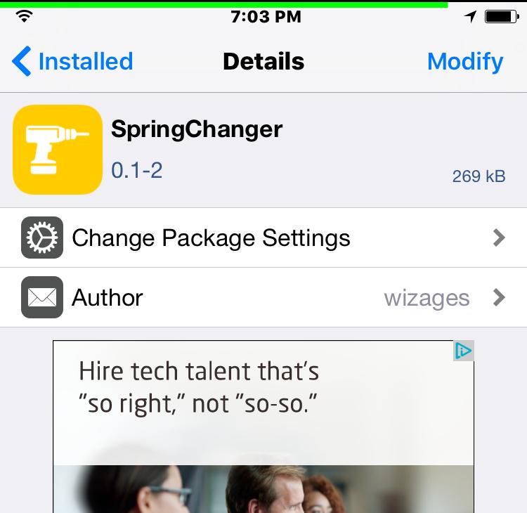 SpringChanger