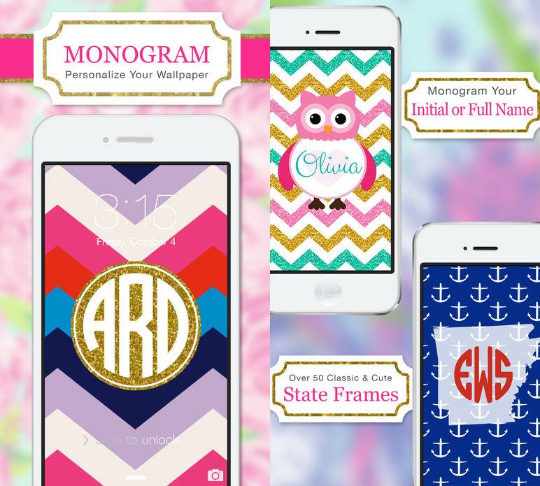 Monogram Lite iOS App wallpaper iOS apps