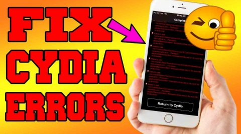 fix cydia errors Yalu jailbreak 10.2