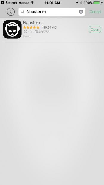 napster++ app