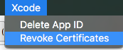 revoke yalu certification