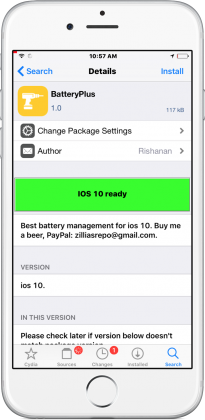 batteryplus cydia tweak