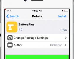 batteryplus cydia tweak