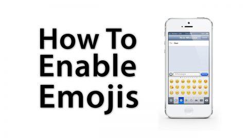 enable emoji