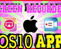 free screen recorders ios 10