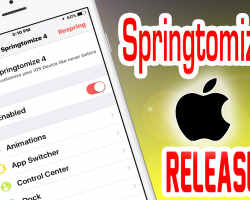 Springtomize 4 Cydia Tweak Review: Profile feature Added Plus More