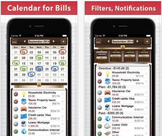 bills-for-iphone-ios-app