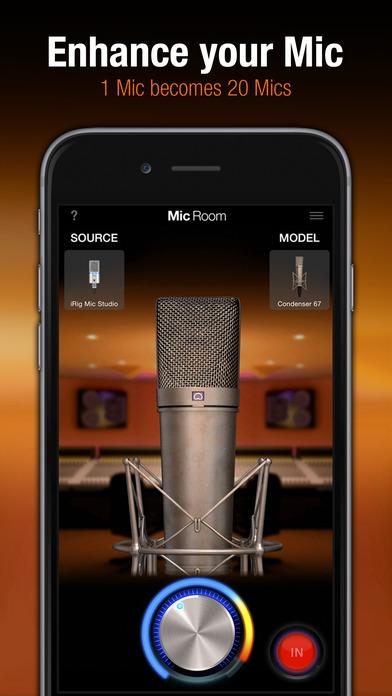 Mic Room iOS app