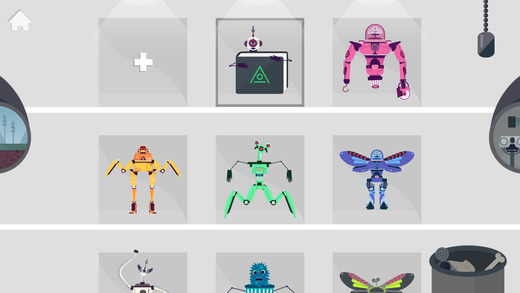 the robot factory ios apps