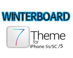 winter board theme