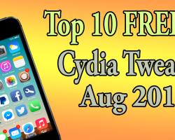 Top 10 Free Cydia Tweaks
