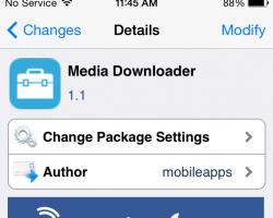 media downloader tweak