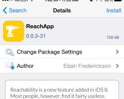ReachApp Tweak