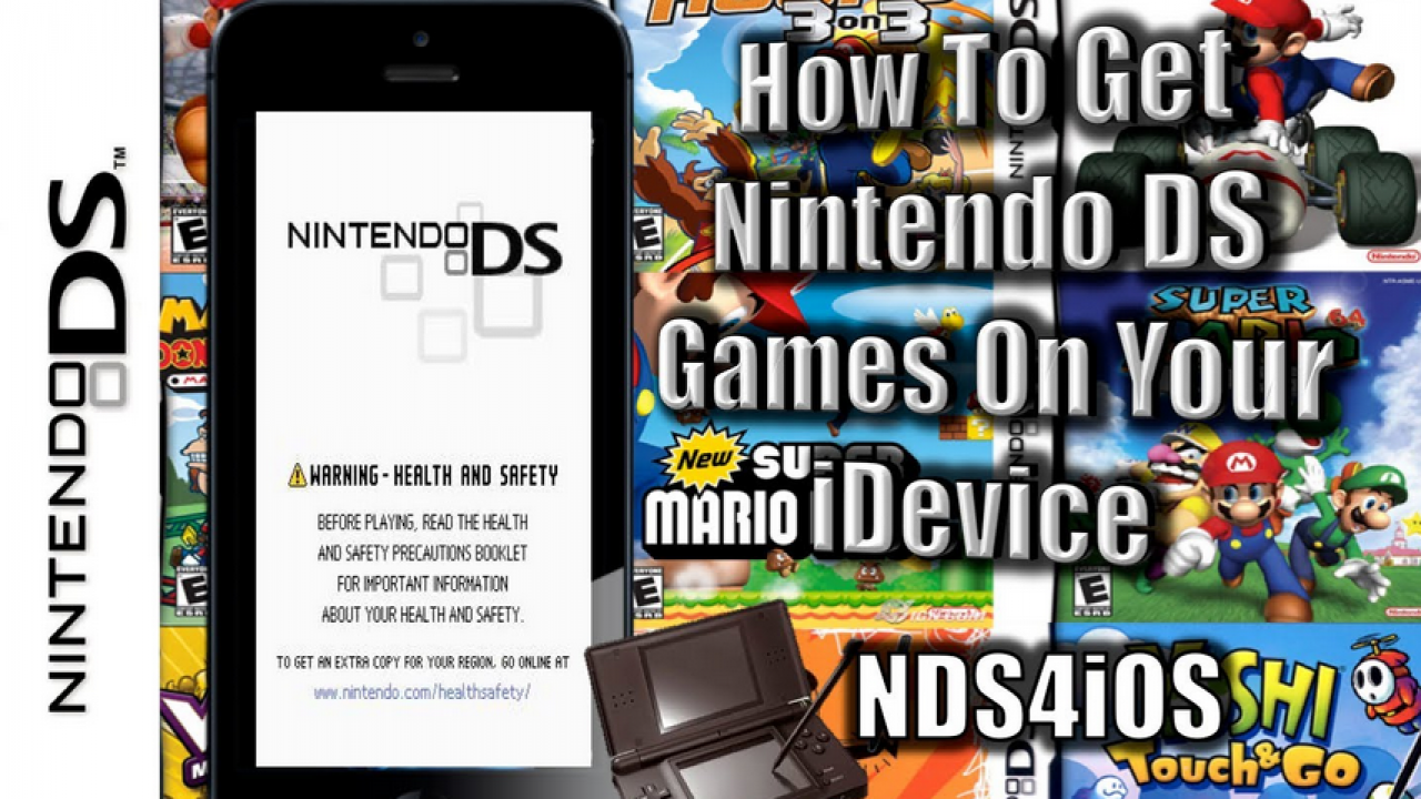 HOW TO INSTALL FULL SPEED NINTENDO DS EMULATOR ON IOS 8