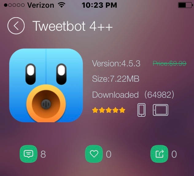 how to get tweetbot 4 for free