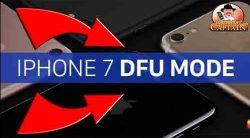 dfu mode iphone 7