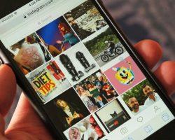 instagram mobile website update