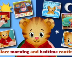 Daniel Tiger's Day & Night iOS app